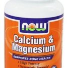 CAL- MAG 500/250mg 100 TABS By Now Foods