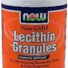 Lecithin Gran Non-Gmo 2 Lb NOW Foods