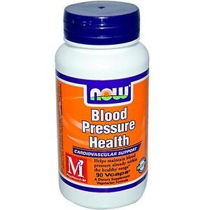 Blood Pressure Health  90 Vcaps NOW Foods