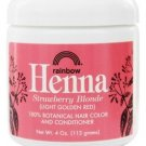 Rainbow Research - Henna Strawberry Blonde Hair Color & Conditioner - 4 oz.