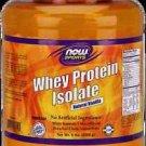 Whey Isolate Vanilla  5 Lb NOW Foods