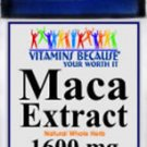 Maca Root Extract 1600 mg / 100 Capsules - Sexual, Intimacy Enhancer