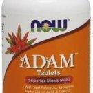 ADAM Superior Men's Multiple Vitamin Now Foods 60 Tabs