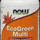 Eco-Green Multi  60 Tabs NOW Foods