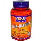 Beta Alanine  750Mg  120 Caps NOW Foods