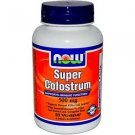 Super Colostrum   500Mg   90 Vcaps NOW Foods