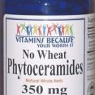 PHYTOCERAMIDES *NO WHEAT* ANTI-AGING Wrinkle Remover Herb 350mg 200 Caps