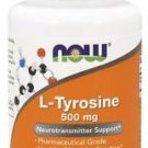 NOW Foods L-Tyrosine 500 mg - 60 Capsules