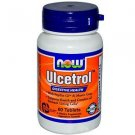 Ulcetrol With Pepzin Gi   60 Tabs NOW Foods