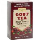 Gout Tea 20 Bags, With Black Cherry Fruit Extract -Support Healthy Uric Acid