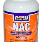 Now Foods NAC-Acetyl Cysteine 600 mg 100 Vcaps