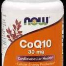 Coq10 30Mg  Softgels   90 Sgels NOW Foods