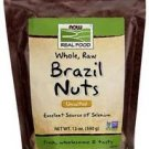 Now Foods, Real Food, Whole, Raw Brazil Nuts, Unsalted, 12 oz (340 g)