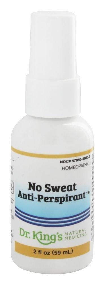 No Sweat Anti Perspirant Dr King Natural Medicine 2 oz Liquid