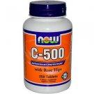 C-500 Rh  250 Tabs NOW Foods