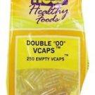 EMPTY VCAPS '00' EMPTY  250 CAPS By Now Foods