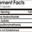 Triple Strength Glucosamine, Chondroitin and MSM 200 Capsules Made in USA