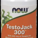 Testojack 300   60 Vcaps NOW Foods