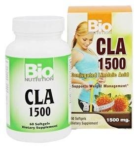 Bio Nutrition - CLA 1500 Conjugated Linoleic Acid 1500 mg. - 60 Softgels