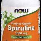 Spirulina 1000 Mg Org  120 Tabs NOW Foods
