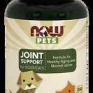 Now Pets Joint Support (Cats & Dogs)  90 Loz NOW Foods