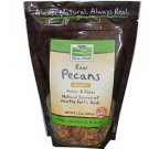 PECANS RAW  12 OZ By Now Foods