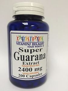 Super Guarana 2400 mg 200 capsules