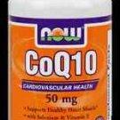 Coq10 50Mg + Vit E  100 Sgels NOW Foods