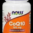 Coq10 100Mg  30 Vcaps NOW Foods