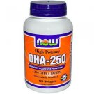 Dha- 250Mg  120 Sgels NOW Foods