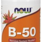 Now Foods Vitamin B-50 - 100 Tablets