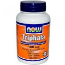 TRIPHALA   500MG   120 TABS By Now Foods