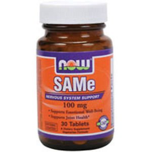 Sam-E 60 Tabs 100 mg by Now Foods