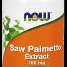 Saw Palmetto 160Mg  120 Sgels NOW Foods