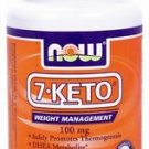 7-Keto  100Mg  30 Vcaps NOW Foods