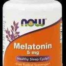Melatonin 5Mg  Vcaps   60 Vcaps NOW Foods