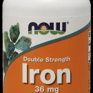 Iron 36Mg Ferrochel(R)  90 Vcaps NOW Foods