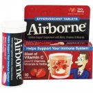 Airborne Effervescent Health Formula Tablets, Very Berry, 10 Each