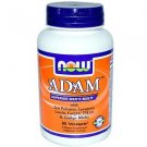 Adam Male Multi   90 Vcaps NOW Foods