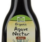 Now Foods, Organic, Real Food, Agave Nectar, Amber, 23.28 oz (660 g)