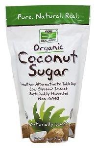 COCONUT SUGAR ORGANIC 16 OZ By Now Foods