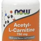 Acetyl L-Carnitine 750 mg 90 Tabs, Now Foods
