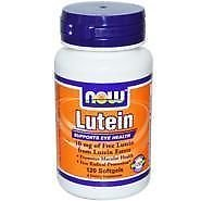 Lutein 10 Mg (From Esters)  60 Sgels NOW Foods