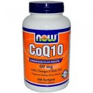 Coq10 60Mg  With Omega-3 240 Sgels NOW Foods