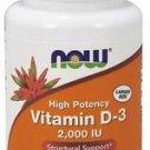 Now Foods, Vitamin D-3, 2,000 IU, 240 Softgels