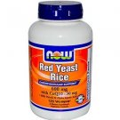 Red Yeast Rice & Coq10  120 Vcaps NOW Foods