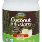 ORG COCONUT INFUSIONS GARLIC 12 OZ ELLYNDALE By Now Foods