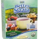 BETTER STEVIA ORGANIC PACKETS 35/BOX By Now Foods