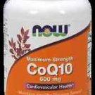 Coq10 600Mg   60 Sgels NOW Foods