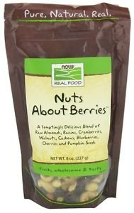 NUTS ABOUT BERRIES  8 OZ By Now Foods